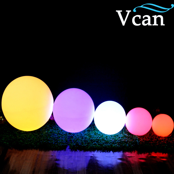 ФОТО 40cm 15.8inch Colorful Outdoor Waterproof LED Ball Lamp VC-B400