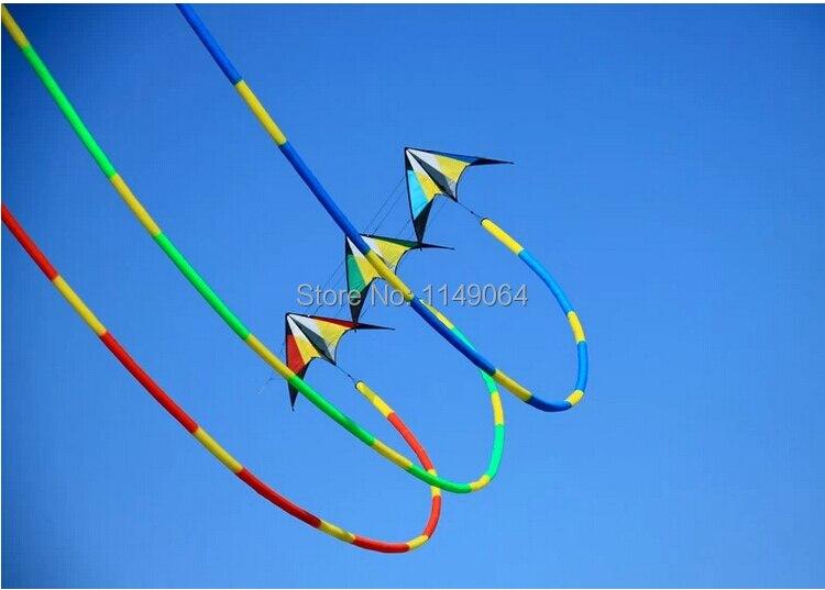 Livraison gratuite haute qualité 32 m 3D cerfs-volants queues diverses couleurs choisir puissance cerf-volant surf jouets de plein air volant hcxkite usine