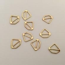 a7aaf41314a517 10mm Diamond Bra Sliders Gold Alloy Metal Slide Bra Buckles Bra Making  Sewing Supplies Underwear Accessories