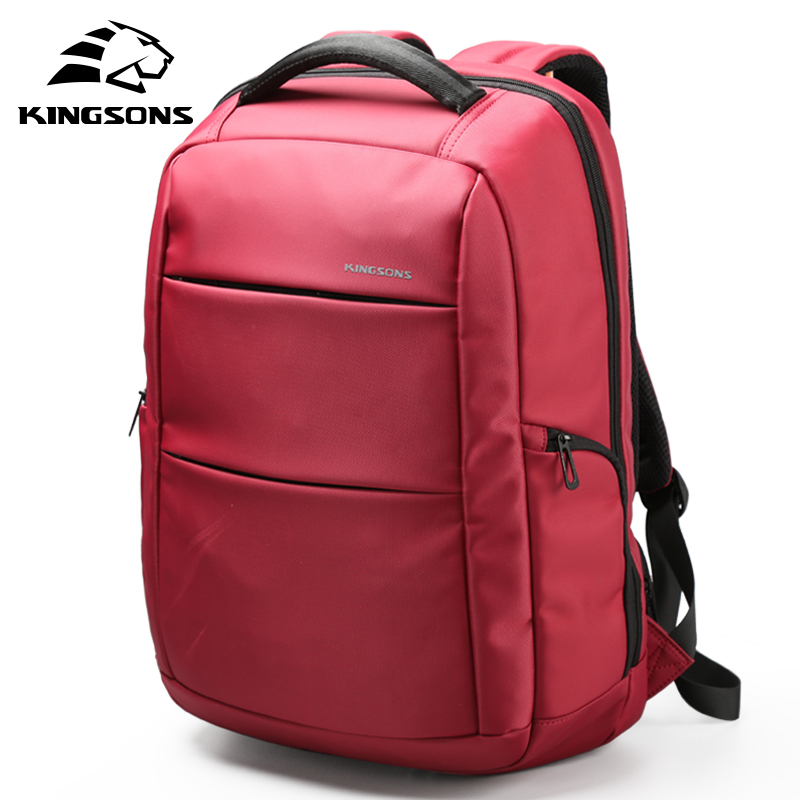 Kingsons Girl External Charging USB Function Laptop Backpack Anti-theft Man Business Dayback Women Travel Bag 15.6 inch KS3142W kingsons external charging usb function school backpack anti theft boy s girl s dayback women travel bag 15 6 inch 2017 new