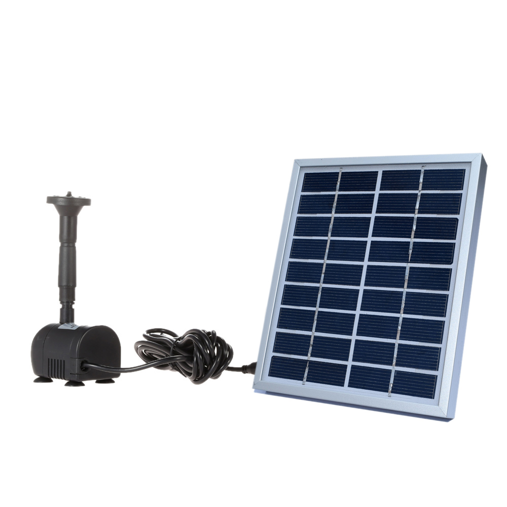 Solar-Powered water pump Brushless DC Solar Power Fountain Pool Water Pump Garden Plants Watering Kit solar pond pump kit 9V 2W dc brushless solar water pump 70m solar water pump for fountain garden pond 24v solar mini water pump solar cell water pump