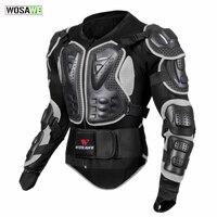 WOSAWE мотоциклетный бронежилет Защита тела мотоцикл черепаха гоночный мото поперечная Задняя поддержка Фиксатор руки