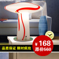 new arrival Bohemia t fitting colored glaze modern table lamp brief mushroom ofhead gift lighting 023  free shipping