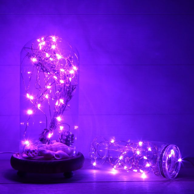 Micro Led String Lights Fascinating Online Shop Magicnight 60ft 60 Purple Mini Micro LED Starry Fairy