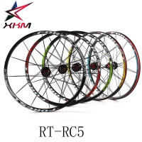 RT RC5 Mountain Bike Bicycle Six Star Style 5 Bearing Carbon Fiber Hub Super Smooth Wheel Wheelset 26 /27.5 er