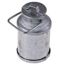 Фермерский металлический чайник для молока 1:12 Миниатюрные