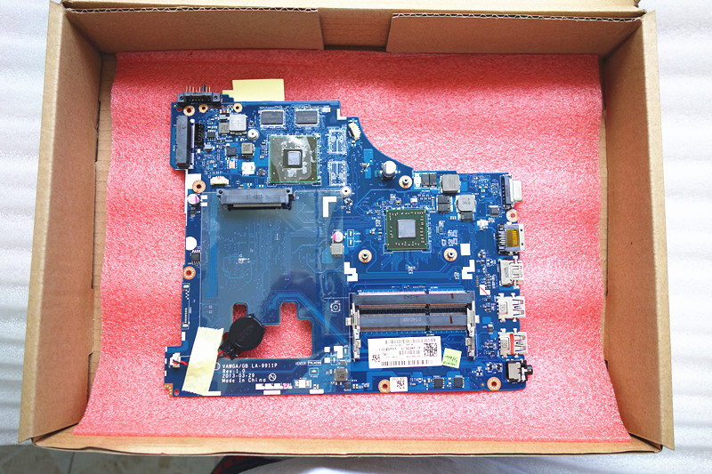 LA 9911P Mainboard fit for Lenovo G505 Laptop Motherboard 1GB LA 9911P with cpu A4 onboard