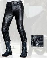 Uglybros johnnyL UBS013 leather trousers motorcycle protective pants men's moto pants racing 100% leather pants