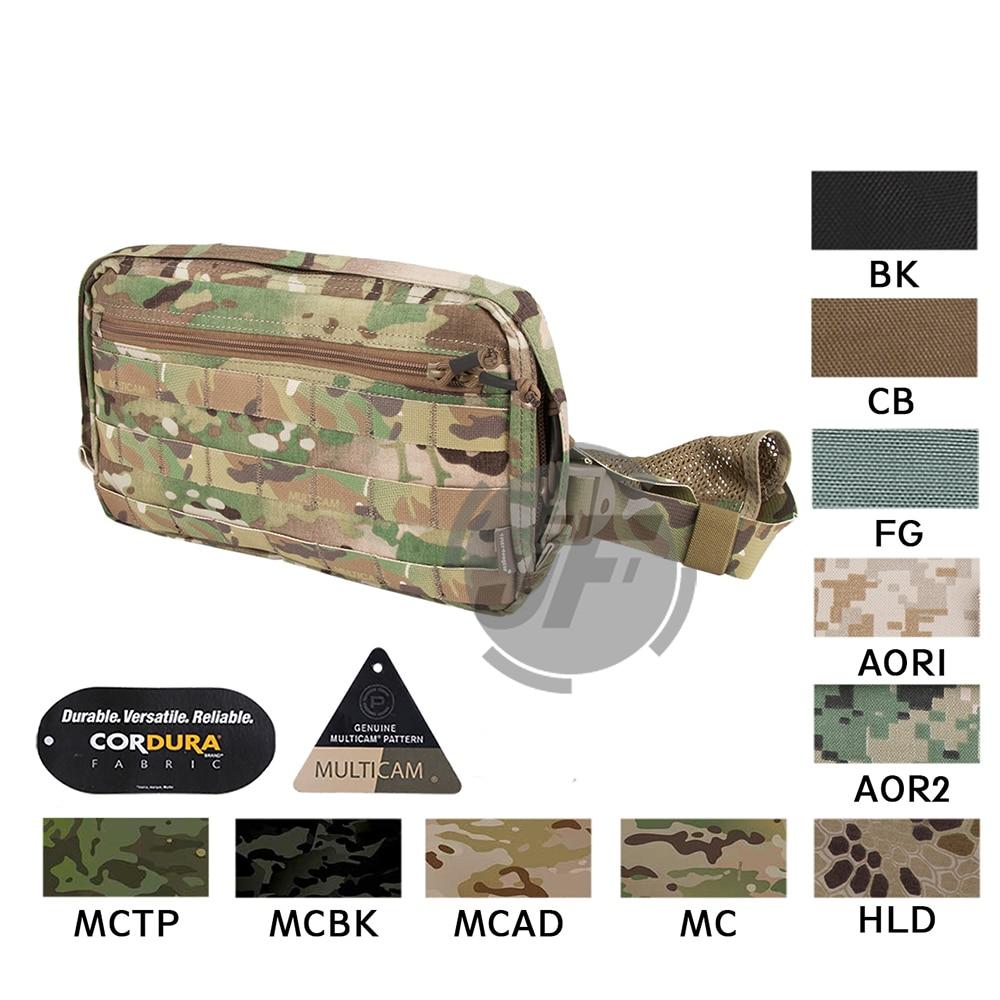 Trousse de reconnaissance de poitrine tactique Emerson sac en Nylon EmersonGear militaire multi-usages accessoires utilitaires dissimulés pochette de Combat