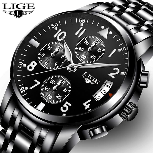 Luxury Fashion Business Quartz Watch for Men [Waterproof & Luminous Hands]