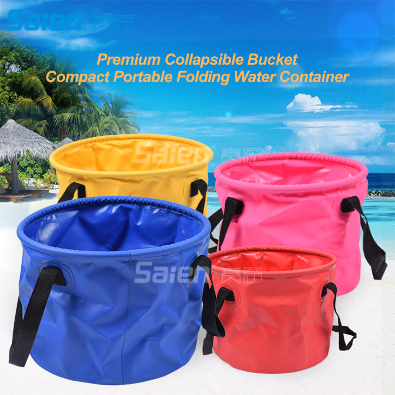 20l Collapsible Bucket, Foldable Water Container Portable Folding Wash Pail For Beach, Travel, Camping, Fishing, Gardening, Car Chills And Pains