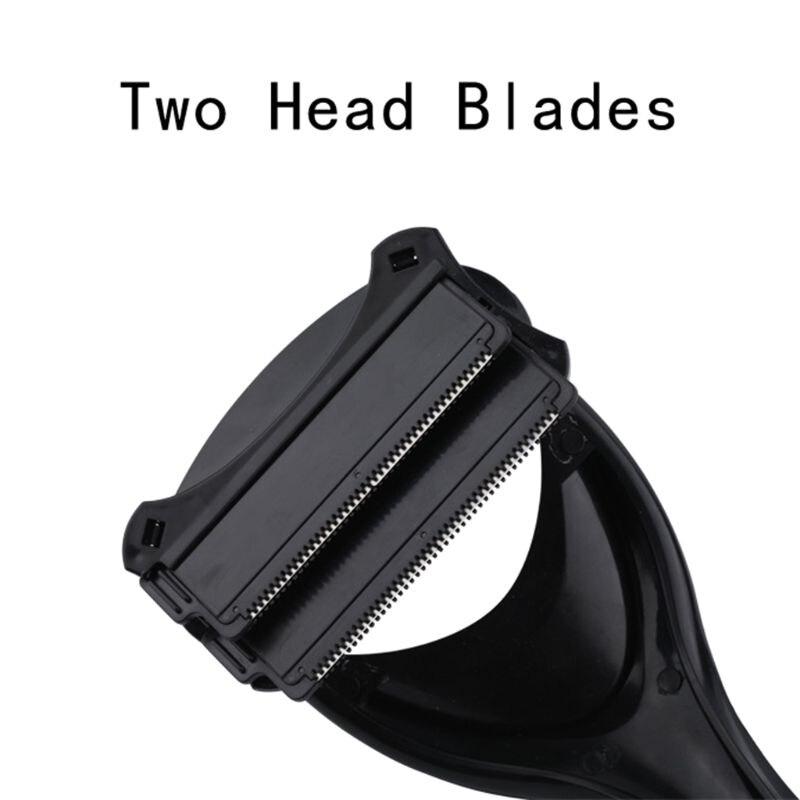 Shaving Manual For Men Shaver Hair Men Back Hair Shaver Head Blade Trimmer Body Leg Removal Razor 4