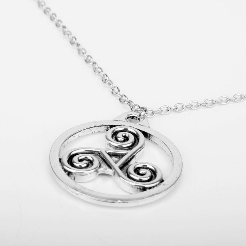 10 Pcs A Lot Outlander Antique Holy Trinity Symbol Celtic Border