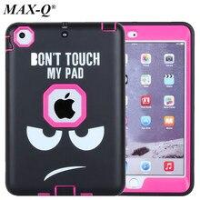 Tablet Case Для Apple iPad mini 1 2 3 Колодок Обложка Кремния Дети девушки Heavy Duty Прочный Противоударный Shell для Apple iPad Mini 1 2 3