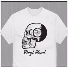 Vinyl Head – Crate Digger t-shirt