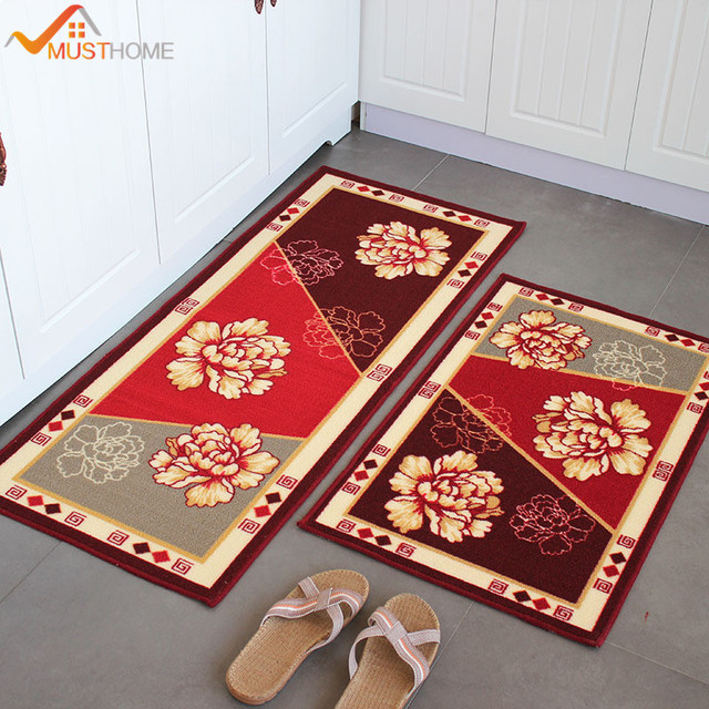 50 80 120cm Kitchen Floor Rugs Polypropylene Mats And Carpets Free Shipping
