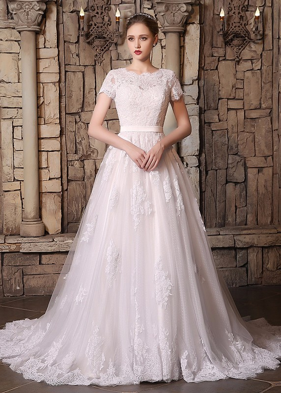 Country western wedding dresses lace applique 2017 vintage for Plus size country western wedding dresses