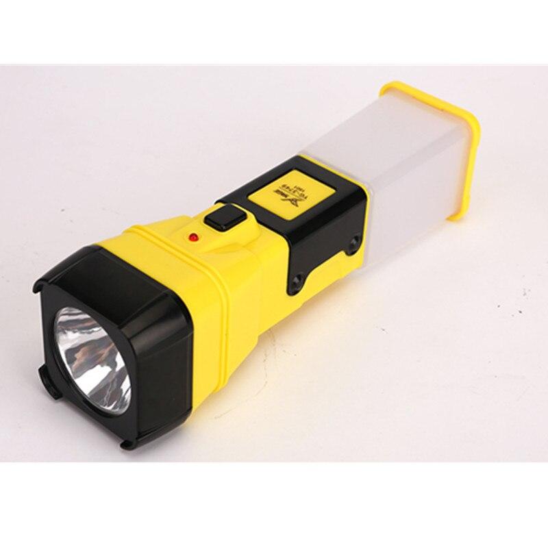 Led Flashlights Yage 3749 Flashlight Night Light Double Lanmp 2-modes Led Torch Literna Laterna 600mah Battery Inside Lampe Torche For Fiashing Save 50-70% Led Lighting