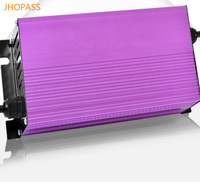 16 s 67.2 v 8a 빠른 스마트 충전기 리튬 배터리 충전기 입력 전압 220 v led 디스플레이 전기 tricycles/ele