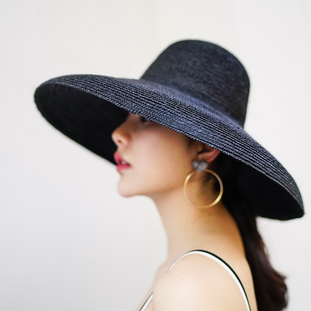 abc86f079fd Beach Hat Vintage Wide Brim Straw Hat 2018 New Summer Sun Hats for Ladies  Female Bucket Hat 681024-in Sun Hats from Apparel Accessories on  Aliexpress.com ...