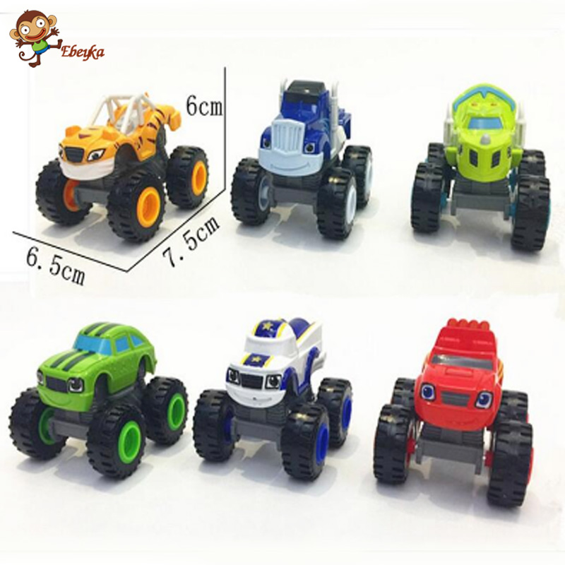 ФОТО blaze monster machines toys vehicle car classical toys action & toy figures with original box best gifts for kids 0319