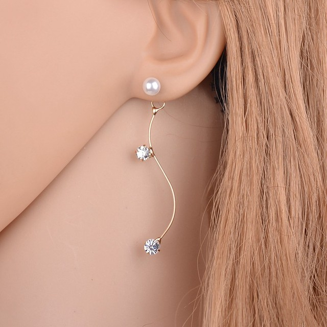 for luxury design earrings crystal new women earringearrings zircon earring elegant jewel popular hot fashion stud jewelry brand