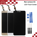 For Lenovo K5 A6020 A40 LCD Display+Touch Screen 1280*720 Assembly Repair Part Mobile Phone Accessories For Lenovo K5 +Tools