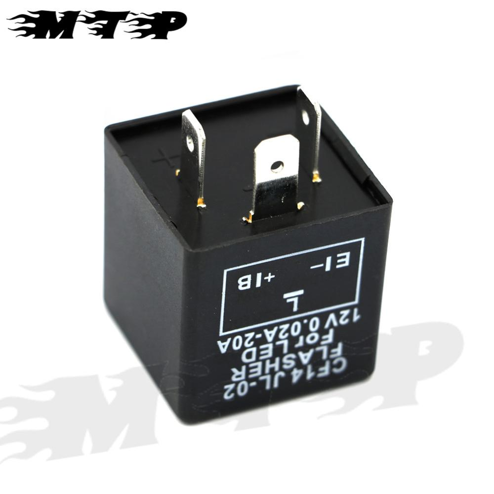 3 Pin Cf14 Motorcycle Flasher Relay Blinkrelais Unit Fix