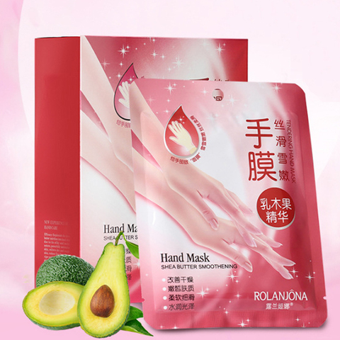 5pairs/lot Hand Mask Moisturizing Gloves Skin Care Shea Butter Super Smoothing &Whitening Products For Women Girls Islamabad