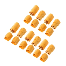 Top Selling 5pairs MT60 3.5mm 3 Pole Bullet Connector Plug Set For RC ESC Housing Lipo Motor цены