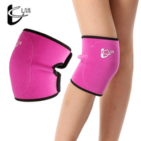 Kids Hockey Non-Slip Knee Pads Outdoor Sports Knee Joint Fixer Stretched Cotton & Rubber Elastic Knee Support Humeral Protection