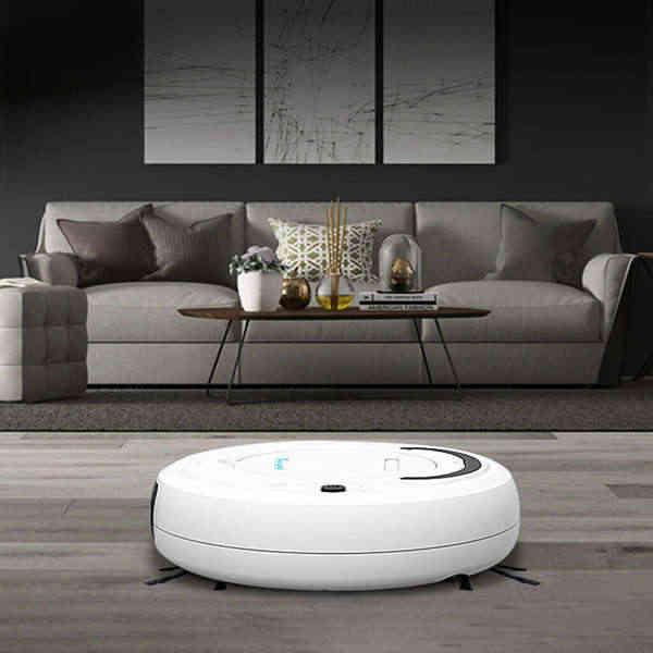 Hot TOD-1800Pa Multifungsi Smart Pembersih Lantai, 3-In-1 Auto Isi Ulang Smart Menyapu Robot Kering Basah Menyapu Vacuum Cleaner
