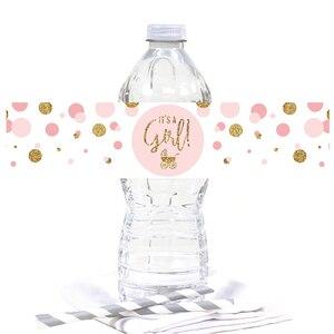 Image 5 - ベビーシャワー 12 個それは少年! それは女の子ボトルステッカー性別明らかパーティー装飾用品 Babyshower 少年少女スティック