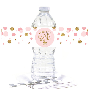 Image 5 - Baby Shower 12pcs It is a Boy! It is a Girl Bottle Stickers Gender Reveal Party Decoration Supplies Babyshower Boy Girl Stick