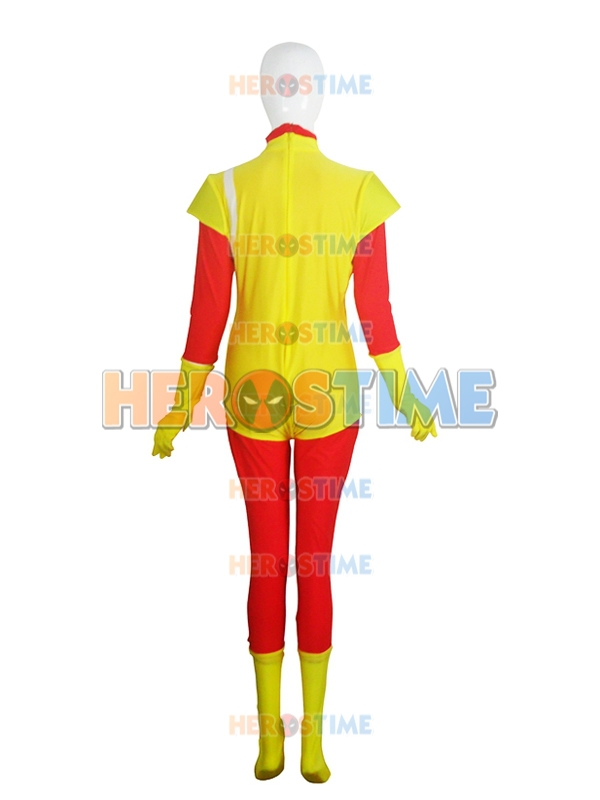 Firestorm Costume Red & Yellow Spandex Firestorm Superhero Costume - Carnavalskostuums - Foto 3
