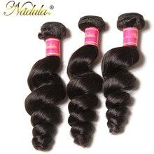 Nadula Hair Brazilian Hair Loose Wave 16 26inch Non Remy Hair Bundles 100 Human Hair Weave