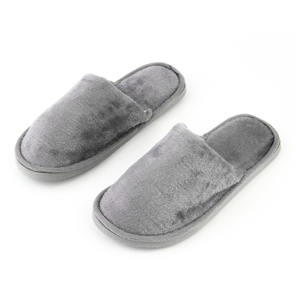 New Indoor House Slippers Soft Plush Cotton Cute Fur Slippers Shoes Non-Slip Floor Furry Slippers Shoes For Bedroom Men Women soft plush cotton cute slippers shoes non slip floor indoor house home furry slippers women shoes for bedroom q37