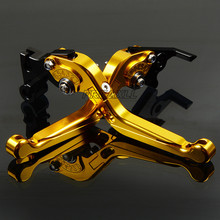 цена на FREAXLL High Quality CNC Motorbike Levers Motorcycle Brake Clutch Levers Foldable Extendable Adjustable For Yamaha FJ-09 FJR1300