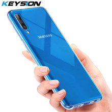 KEYSION Phone Case for Samsung Galaxy A50 A70 A40 A30 A20 A10 Ultra-thin Clear Soft TPU Silicone Transparent Cover for M10 M20(China)