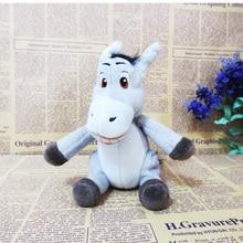 Free shipping 15cm Shrek movie Donkey plush stuffed baby toys child dolls Cartoon animal toys birthday gift