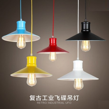 Loft Style Retro Iron Art Droplight Edison Vintage Pendant Light Fixtures For Dining Room Industrial Lamp Lamparas Colgantes