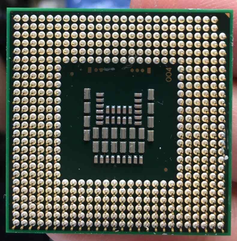 PGA CPU Del Computer Portatile processore Intel Core 2 Duo T8100 478 cpu 100% di lavoro correttamente