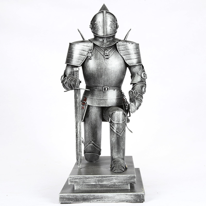 Ancient Rome Ornament Sculpture Middle Ages Character Statue Iron Crafts Justice Warrior Figurines Home DecorR1308Ancient Rome Ornament Sculpture Middle Ages Character Statue Iron Crafts Justice Warrior Figurines Home DecorR1308