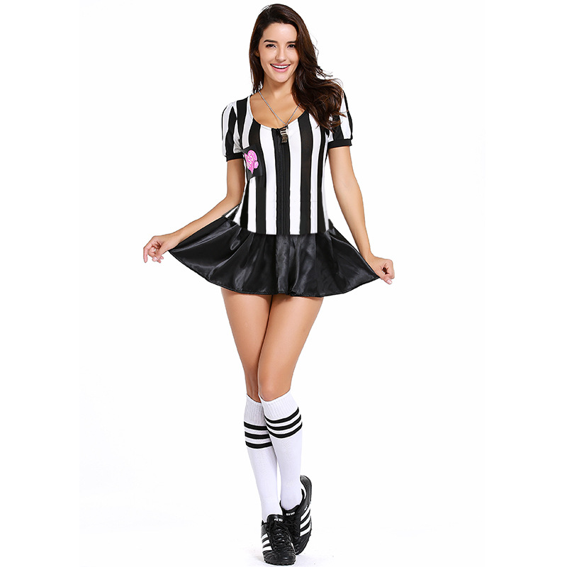 Cheerleading and Dance Costumes Football Babes Top Skirt Set