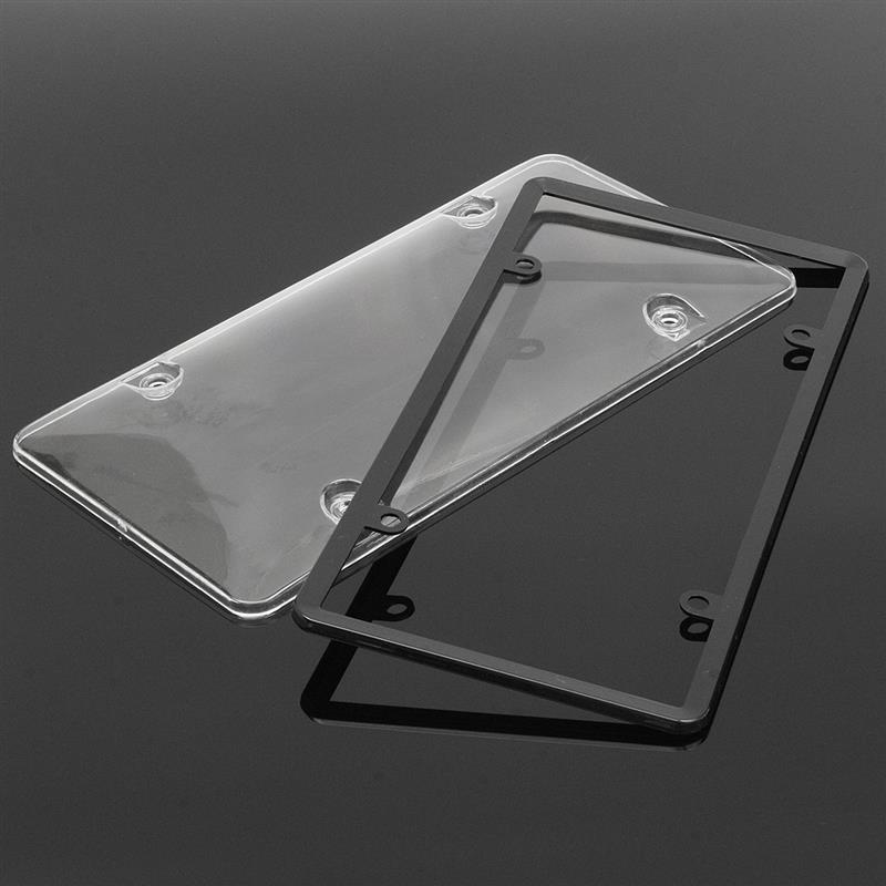 Kunststoff Auto Nummernschild Rahmen Blase Clear Shield Auto ...