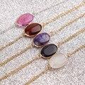 Pulseiras & bangles pedra natural pulseira de miçangas charme da mulher Pulseiras de corrente fina