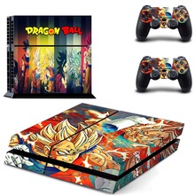 PS4 Skin Sticker for Sony PlayStation 4 Console and 2 Controller Skins PS4 Sticker Vinyl-For Dragon Ball Super