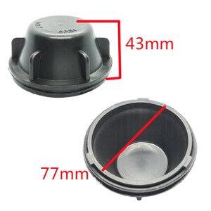 Image 4 - 1 pc עבור kia K2 2009 2013 מנורת עם מורחב חזרה כיסוי אבק כיסוי LED פנס איטום כיסוי H4 הנורה אחורי כובע