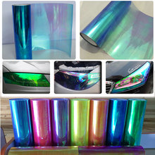 0.3x9m(1x3ft) Chameleon Neo Pearl Color Headlight Taillight Fog Light Vinyl Tint Film Free Shipping