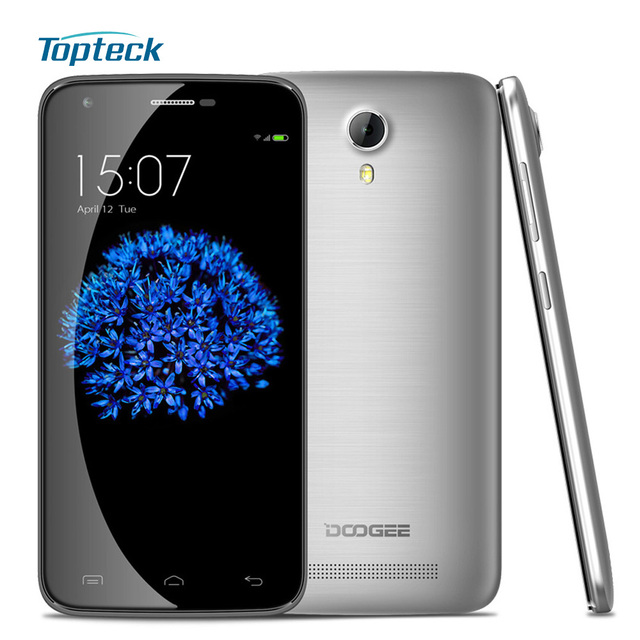 """DOOGEE Valencia2 Y100 Pro Y100 Plus 4G Smartphone Android 5.1 MTK6735 Quad Core Cellphone 2GB + 16GB 5.5"""" IPS 13MP Mobile Phone"""